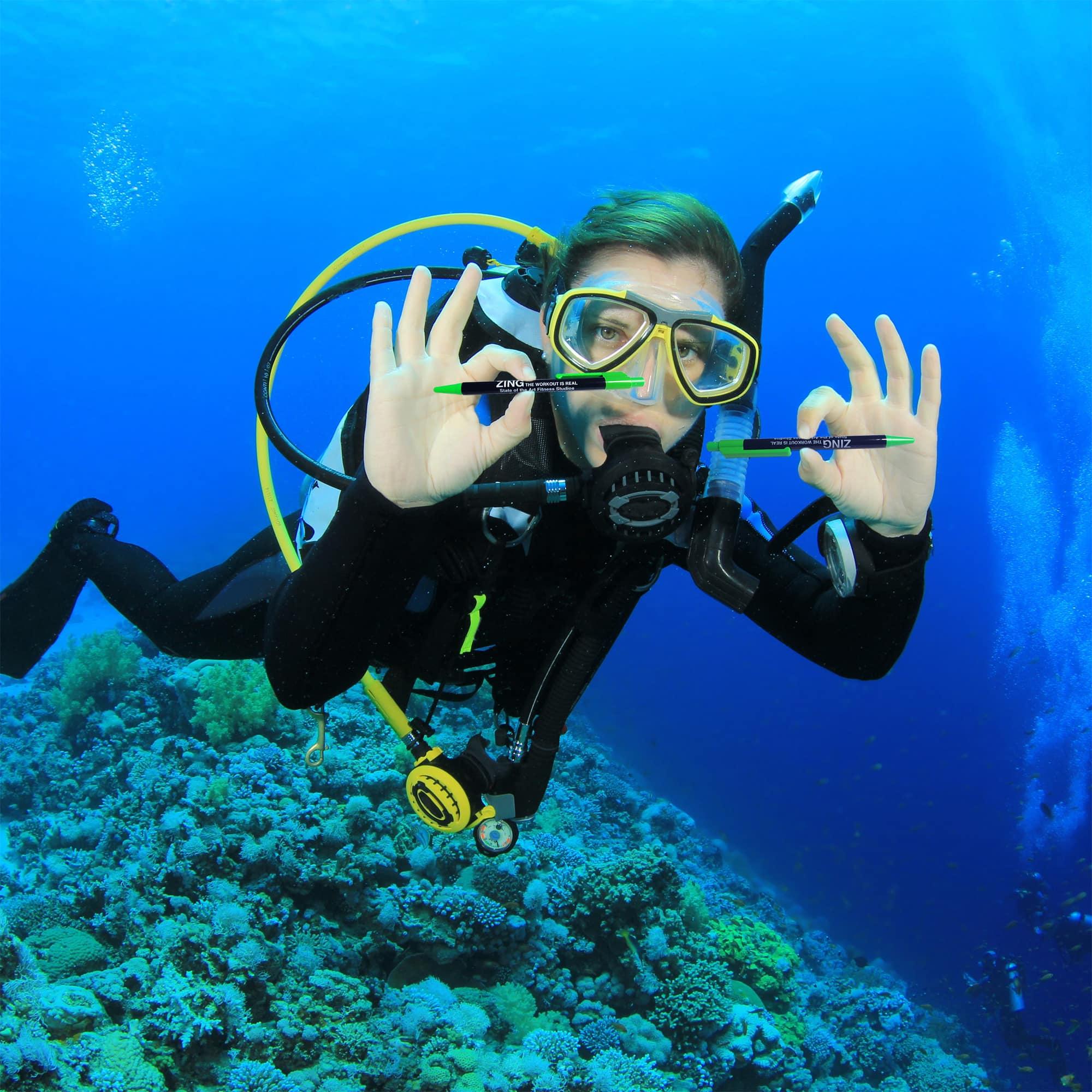 ZING Fitness Studios Pen Underwater