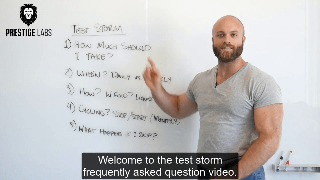 TEST STORM - How to Take: