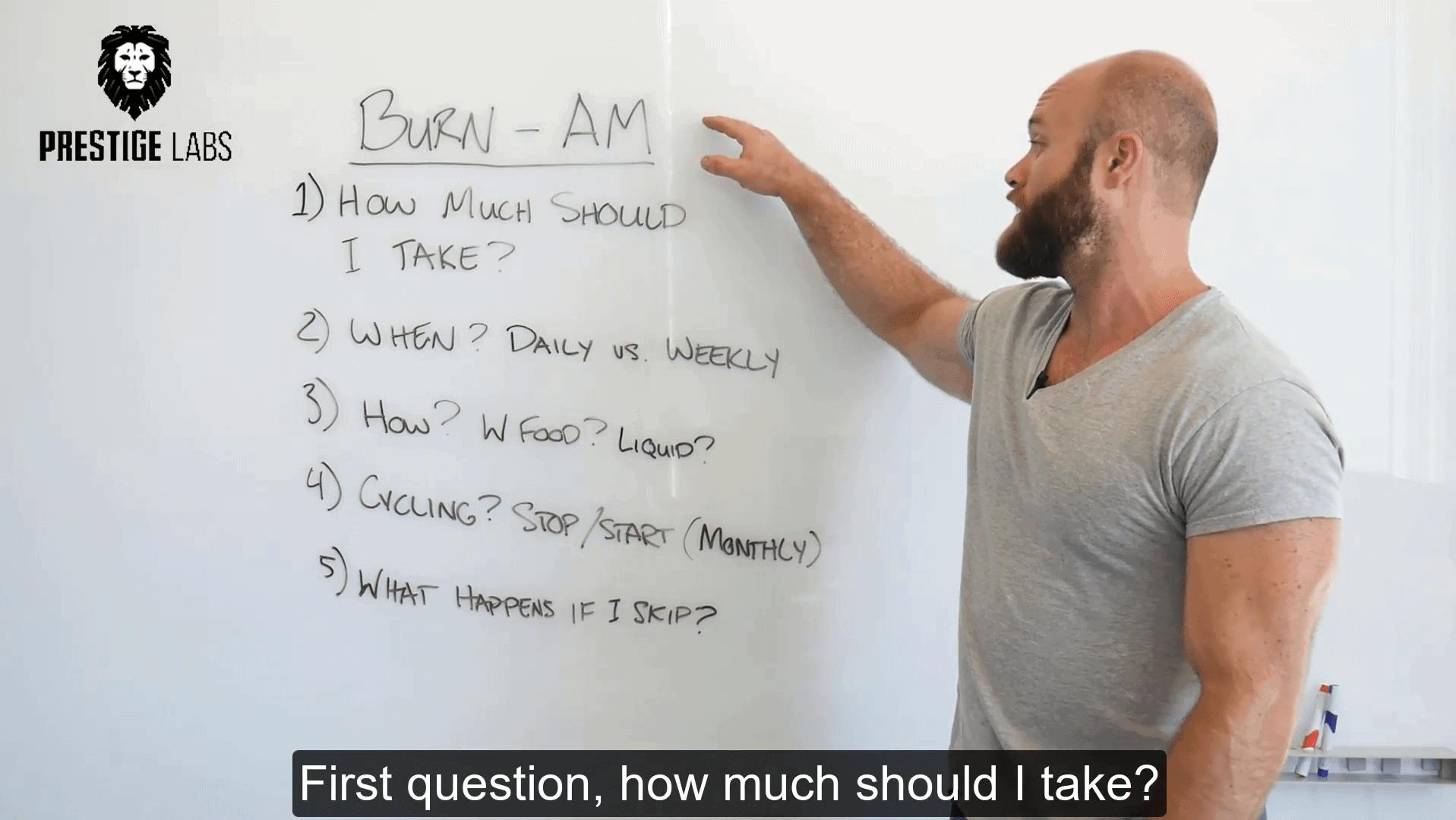 BURN AM - How to Take:
